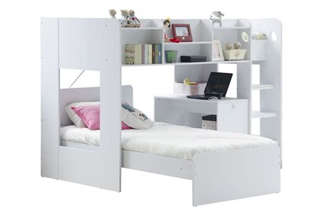 Wizard Junior L Shaped Bunk Bed L Shaped Bunk Bed With Desk