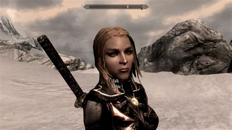 beautiful hair skyrim ysolda long hair beautiful at skyrim nexus mods and
