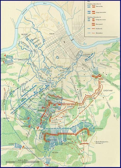 map of nashville maps battle of nashville preservation society inc
