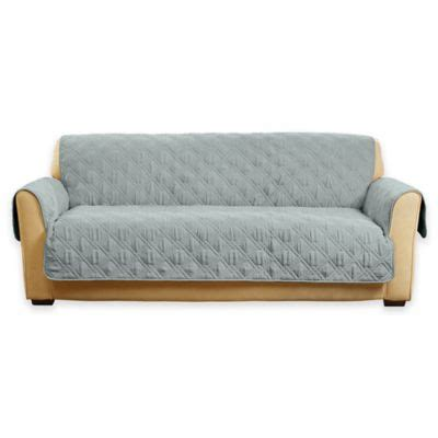 buy sure fit 174 deluxe pet sofa cover from bed bath beyond