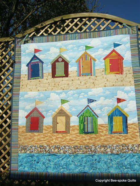 quilt pattern beach house 78 best images about beach hut picture quilt on pinterest