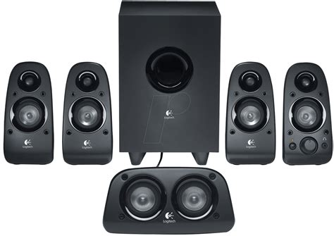 logi tech logitech z506 logitech z506 5 1 surround speaker set at