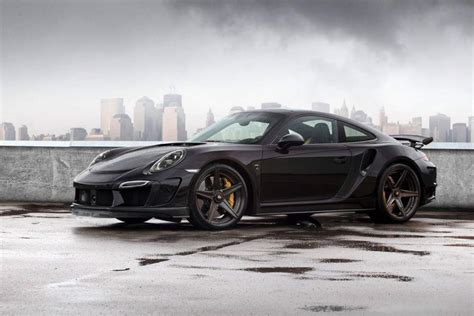 The Topcar Porsche 911 Stinger Gtr Is A Sick Black Beast