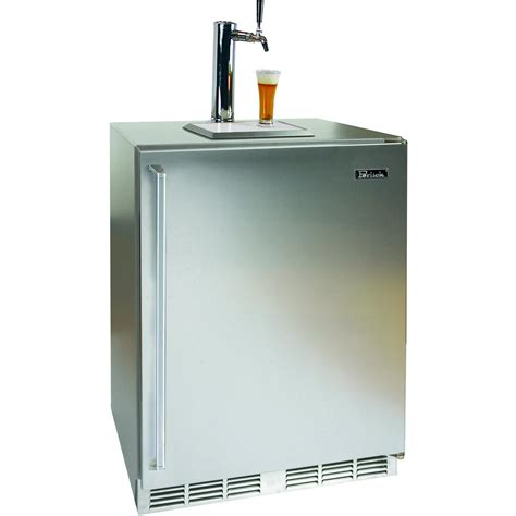 Kegerator Cabinet by Perlick 5 3 Cu Ft Outdoor Kegerator Integrated Custom