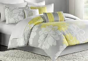yellow king comforter sets lola gray yellow 7 pc king comforter set king linens gray