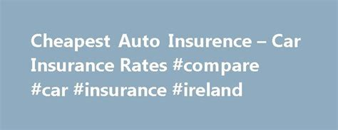 17 Best ideas about Car Insurance on Pinterest   Car