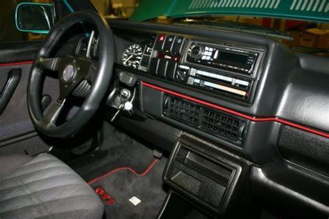 Golf 2 Interior by Vw Golf Mk2 Interior