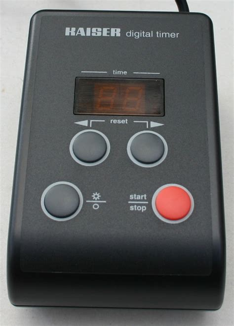 Kaiser Timer Digital Aquascape darkroom enlarger timer 2 digit colored display time count to zero then reset to