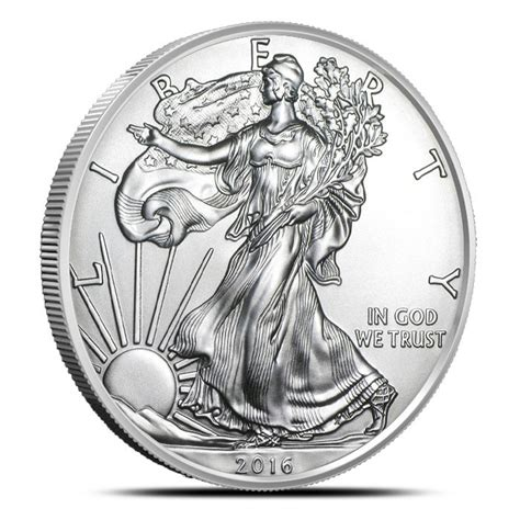 1 Oz Silver Eagle 2016 - buy 2016 american silver eagle provident metals ships free