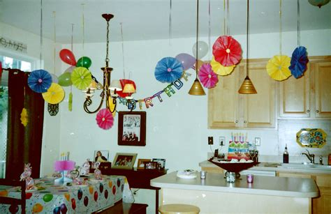 home decoration for 1st birthday party how to decorate room for birthday party at home