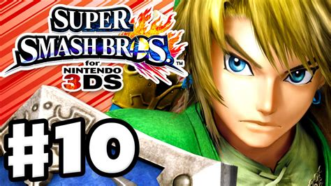 Kaset 3ds Smash Bros smash bros 3ds gameplay walkthrough part 10 link nintendo 3ds gameplay