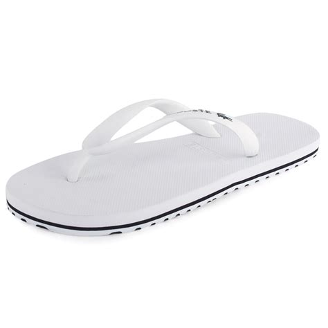 slippers white company lacoste nosara mens rubber sandals white new shoes all