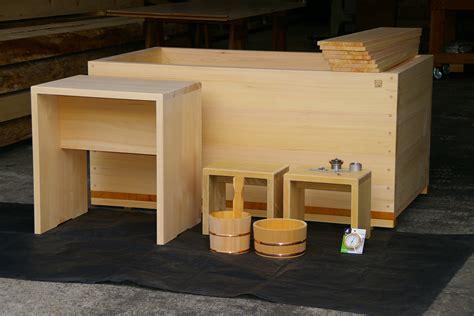 hinoki bathtub adjustable seat hinoki tub japanese ofuro bathtubs by