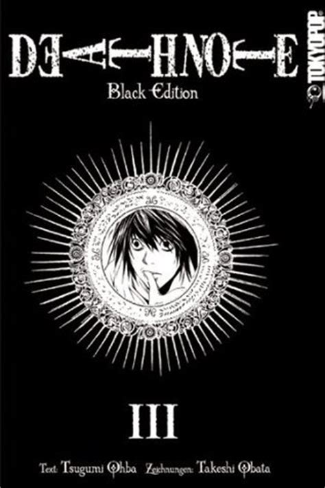 note black edition vol 1 note black edition vol 3 by tsugumi ohba