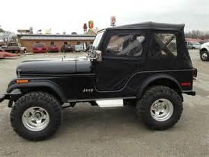 1978 Jeep Wrangler Find Used 1978 Jeep Cj5 Wrangler Black 4x4 In Effingham