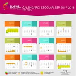 Calendario 2018 Sep Calendario Oficial Sep 2017 2018 Tres Versiones