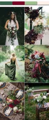 november wedding colors fall wedding color ideas stylish wedd