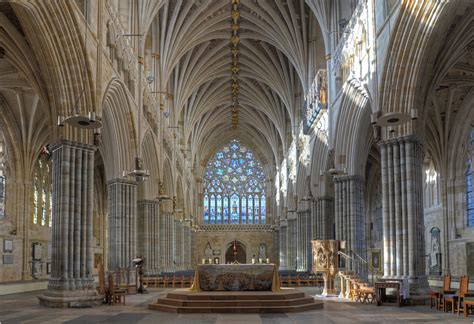 the world explored the world suffered the exeter lectures books exeter cathedral the nave altar and west window flickr