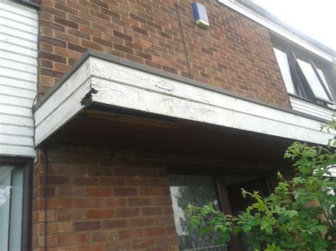 external porch replace wood  plastic fascia board