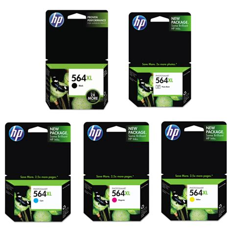 Promo Cartridge Hp 564 Color Yellow Original the match for your hp inkjet printer hp 564xl oem ink cartridges 123inkcartridges