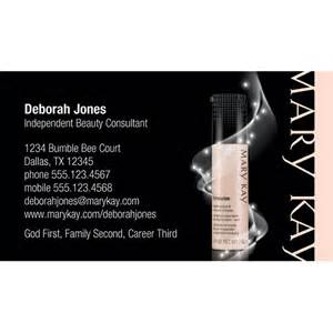 Mary Kay Business Cards Templates Free Mary Kay Business Cards For Pinterest