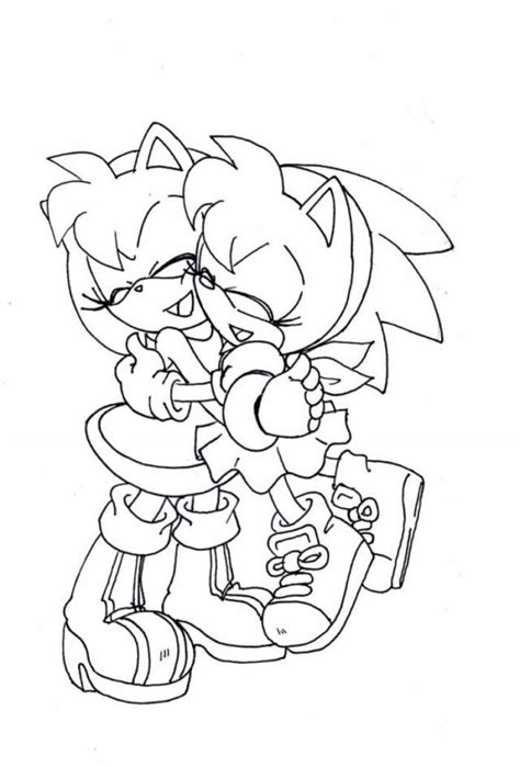 coloring pages of amy rose amy rose coloring pages coloring home
