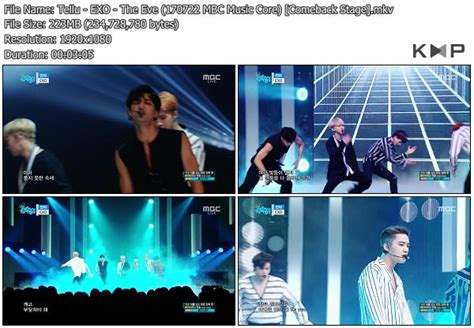 download mp3 exo the eve download perf exo the eve ko ko bop mbc music core