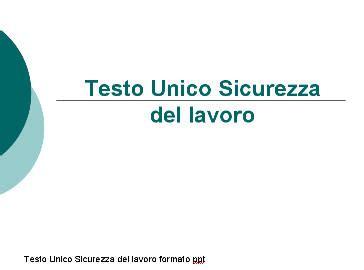 testo unico iva www sicurezzapratica info