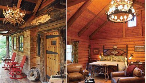 Log Cabin Getaways Field Guide 5 Cozy Luxe Log Cabins For A Winter Getaway