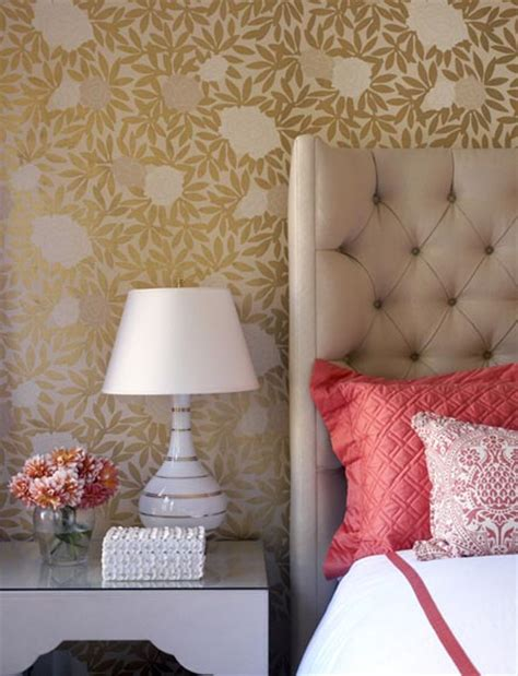 coral and beige bedroom prairie perch the colour coral