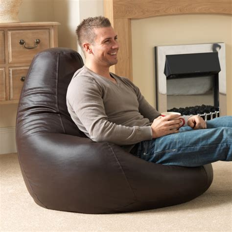 Gaming Bean Bag Recliner Faux Leather by Innovative Seating Solutions For The Modern Home Bean