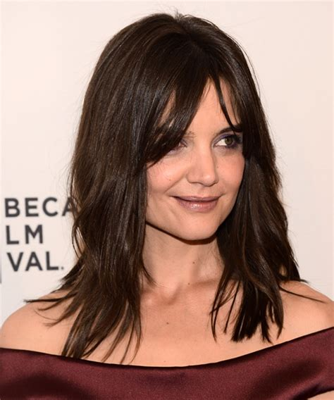 layered long bob katie holmes katie holmes hairstyles photos hairstyles