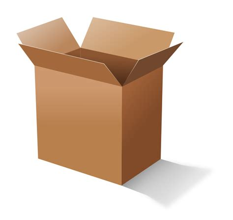Cardboard Clipart onlinelabels clip cardboard box