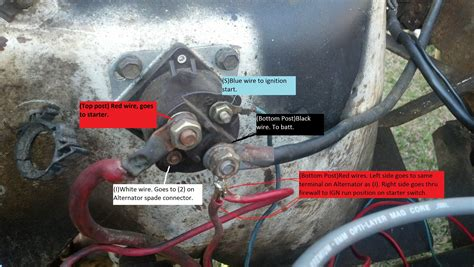 starter solenoid and relay jeep cj forums car wiring wiring diagram for jeep liberty cars in 2002