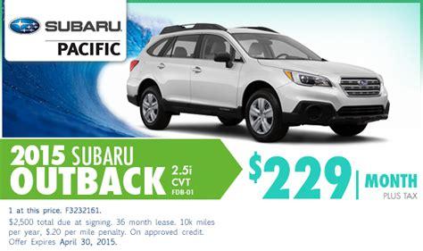 new subaru lease and sales specials torrance los
