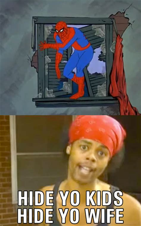 Bed Intruder Meme - bed intruder they found him 60s spider man know