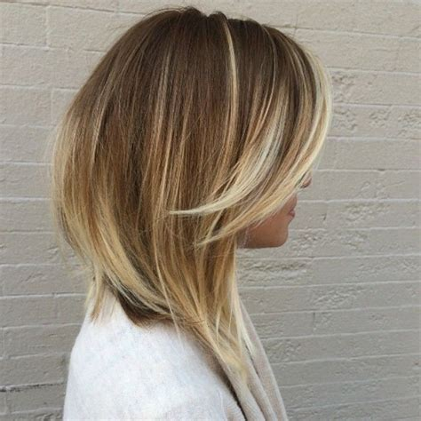 long angled bob with omnre color 25 best ideas about long inverted bob on pinterest