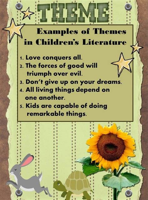 theme list for 4th graders theme mrs leiterman