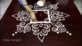 simple and easy rangoli designs for home www imgkid