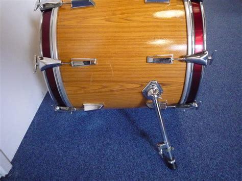 Drum White No Brand 18 bass drum 18 quot x 16 quot no brand sonor copy