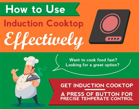induction cooker how to use in how to use induction cooktop effectively infographic induction