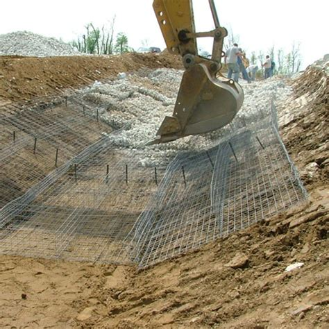 reno mattress gabion mat iron spider slope