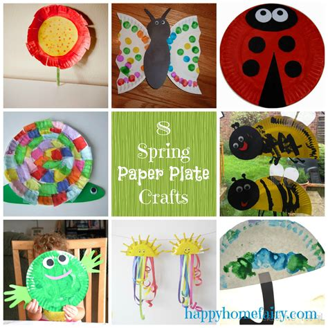 Craft Ideas With Paper Plates - paper plate crafts for happy home