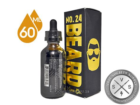 Best Seller Beard 24 Liquid Premium Usa 60ml no 24 ejuice by beard vape 60ml