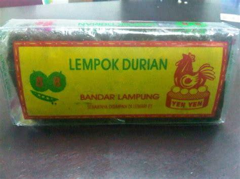 Durian 2 In 1 Selai N Dodol Asli oleh oleh khas lung tradisikita indonesia
