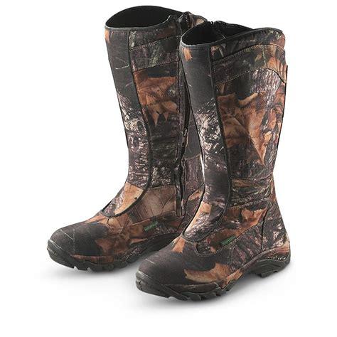 mossy oak boots s guide gear 174 16 quot silent adrenaline waterproof snake
