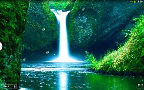 wallpaper animasi terkeren wallpaper pemandangan air terjun bergerak images hewan