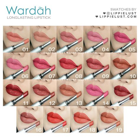 Lipstik Wardah Warna Hijau local brand lippielust