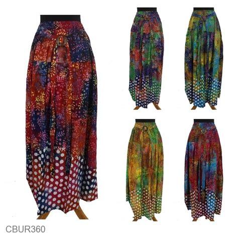 Rok Klok Anak rok batik klok cap motif daun tumpal pulkadot rok murah