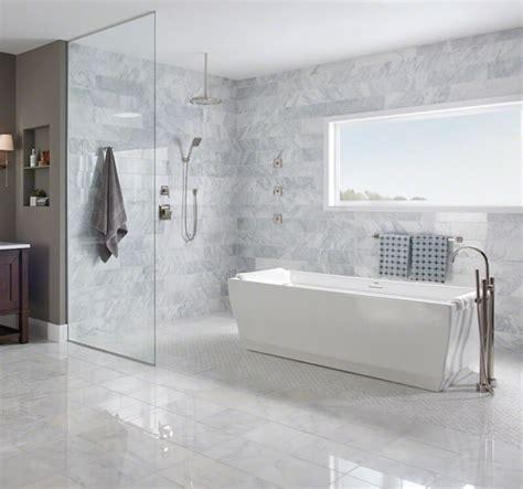 carrara marble subway tile bathroom 7 unique subway tile bathroom remodels for every design